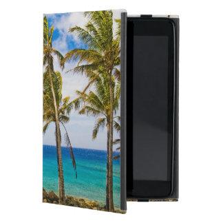 Palmeras del coco (nucifera de los Cocos) que se s iPad Mini Protector
