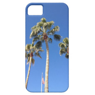 Palmeras en caso del iPhone 5 del cielo azul iPhone 5 Carcasa
