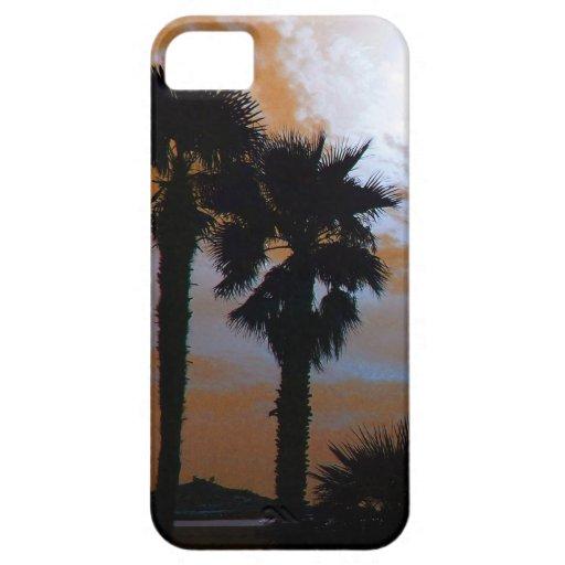 palmeras iPhone 5 carcasa
