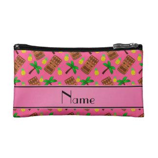 Palmeras rosadas conocidas personalizadas de las