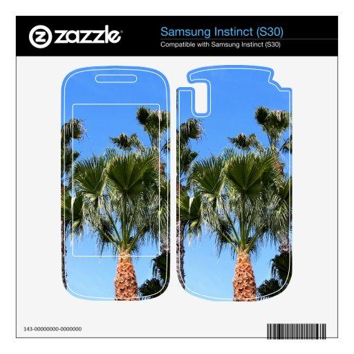 Palmeras Samsung Instinct Skin
