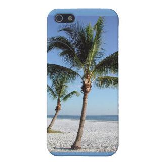 Palmeras tropicales iPhone 5 carcasa