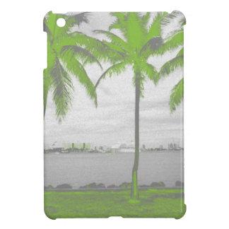 Palmeras verde de Miami, la Florida