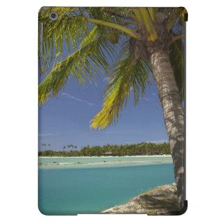 Palmeras y laguna, centro turístico isleño de la e funda para iPad air