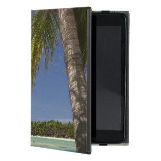 Palmeras y laguna, centro turístico isleño de la e iPad mini coberturas