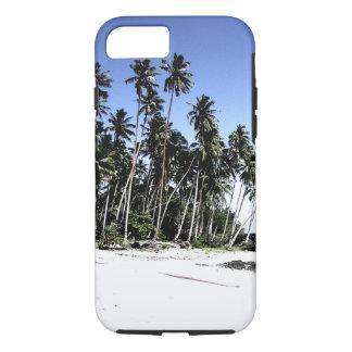 Palmeras y playa exóticas del paraíso funda iPhone 7