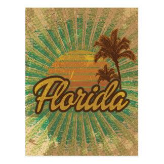 Palmeras y Sun, la Florida del vintage Postales