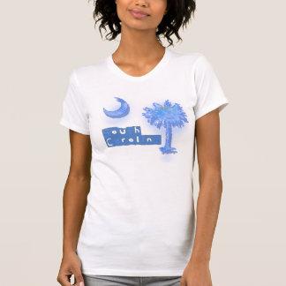 Palmetto de Carolina del Sur Camisetas