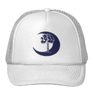 Palmetto de Carolina y casquillo azules del crecie Gorras