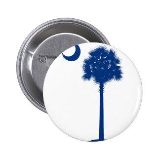Palmetto del azul de Carolina del Sur Pin
