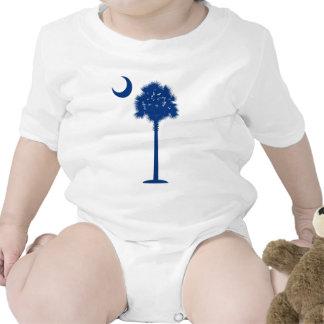 Palmetto del azul de Carolina del Sur Trajes De Bebé
