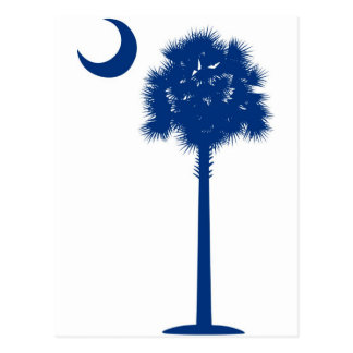 Palmetto del azul de Carolina del Sur Postal