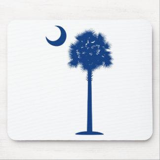 Palmetto del azul de Carolina del Sur Tapete De Raton