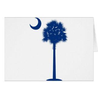 Palmetto del azul de Carolina del Sur Felicitaciones