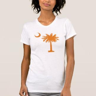 Palmetto del SC y creciente (o) Camisetas