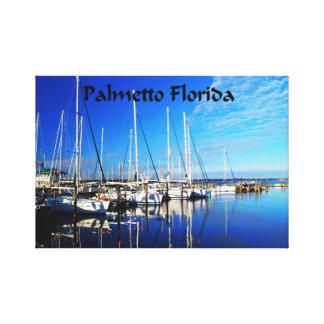 Palmetto Florida Canvas Print