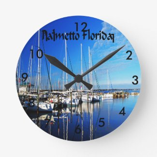 Palmetto Florida Clock