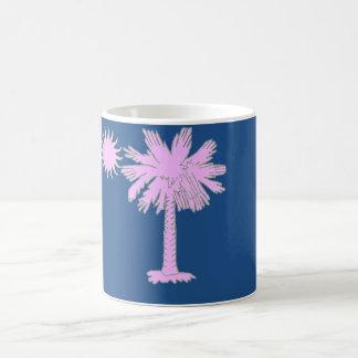 Palmetto Heat Logo with Palmetto Tree and Sun Mug