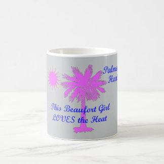 Palmetto Heat...This Beaufort Girl LOVES the Heat Classic White Coffee Mug
