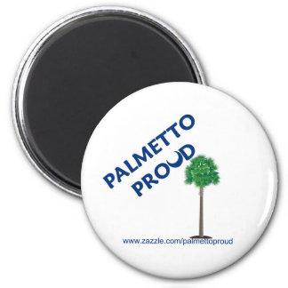Palmetto orgulloso iman de nevera