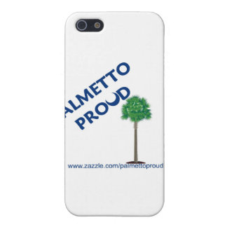 Palmetto orgulloso iPhone 5 cárcasas