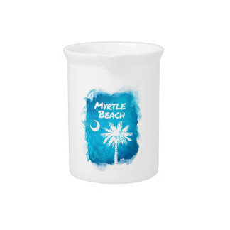 Palmetto Paint Splatter Drink Pitchers