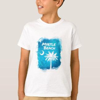 Palmetto Paint Splatter T-Shirt