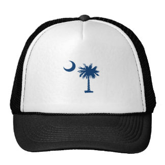 PALMETTO TREE TRUCKER HAT