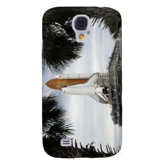 Palmetto trees frame space shuttle Endeavour Galaxy S4 Cover