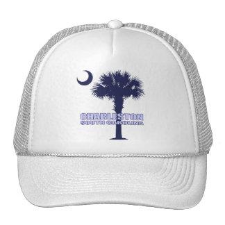 Palmetto y creciente (Charleston) del SC Gorra