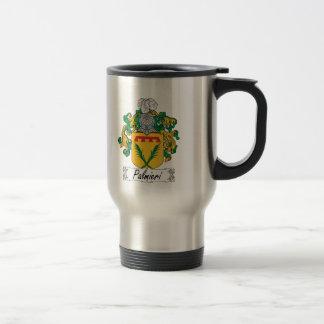 Palmieri Family Crest 15 Oz Stainless Steel Travel Mug