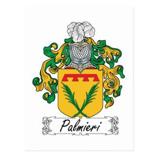 Palmieri Family Crest Postcard