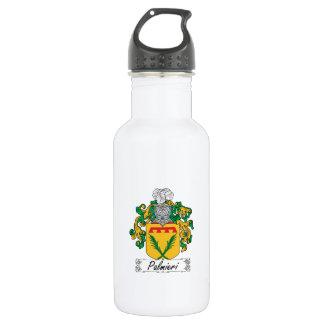 Palmieri Family Crest Water Bottle