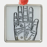 Palmistry Christmas Ornament
