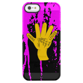Palmistry Hang Loose Clear iPhone SE/5/5s Case