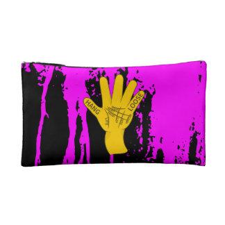 Palmistry Hang Loose Cosmetic Bag