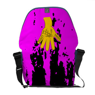 Palmistry Hang Loose Courier Bag