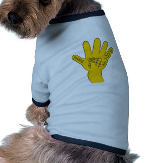 Palmistry Hang Loose Dog Clothes