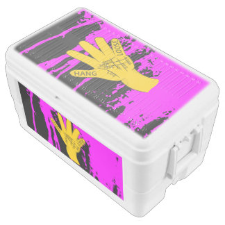 Palmistry Hang Loose Igloo Chest Cooler