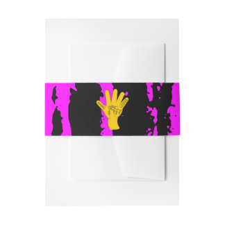 Palmistry Hang Loose Invitation Belly Band