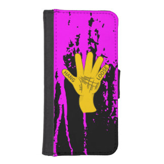 Palmistry Hang Loose iPhone SE/5/5s Wallet Case