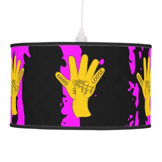 Palmistry Hang Loose Pendant Lamps