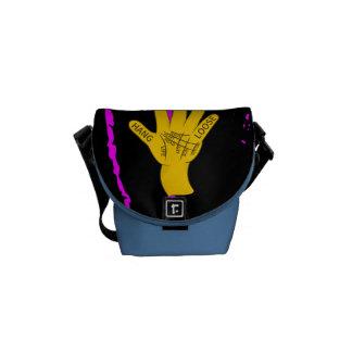 Palmistry Hang Loose Messenger Bags
