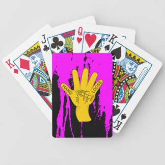 Palmistry Hang Loose Bicycle Playing Cards