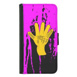 Palmistry Hang Loose Samsung Galaxy S5 Wallet Case