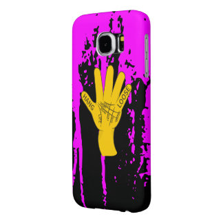 Palmistry Hang Loose Samsung Galaxy S6 Cases
