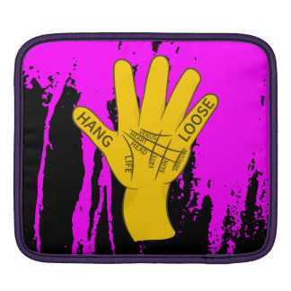 Palmistry Hang Loose Sleeves For iPads