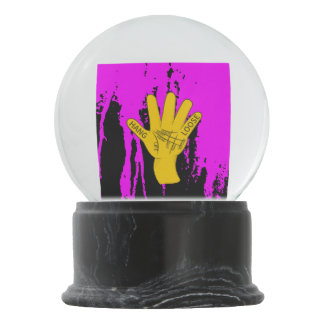 Palmistry Hang Loose Snow Globes