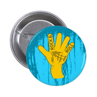 Palmistry Rock and Roll 2 Inch Round Button