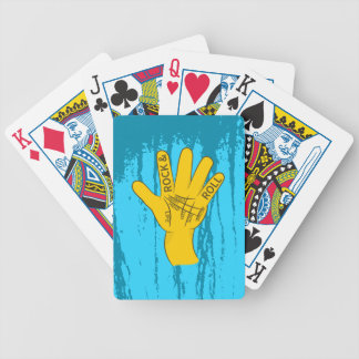 Palmistry Rock and Roll Bicycle Playing Cards